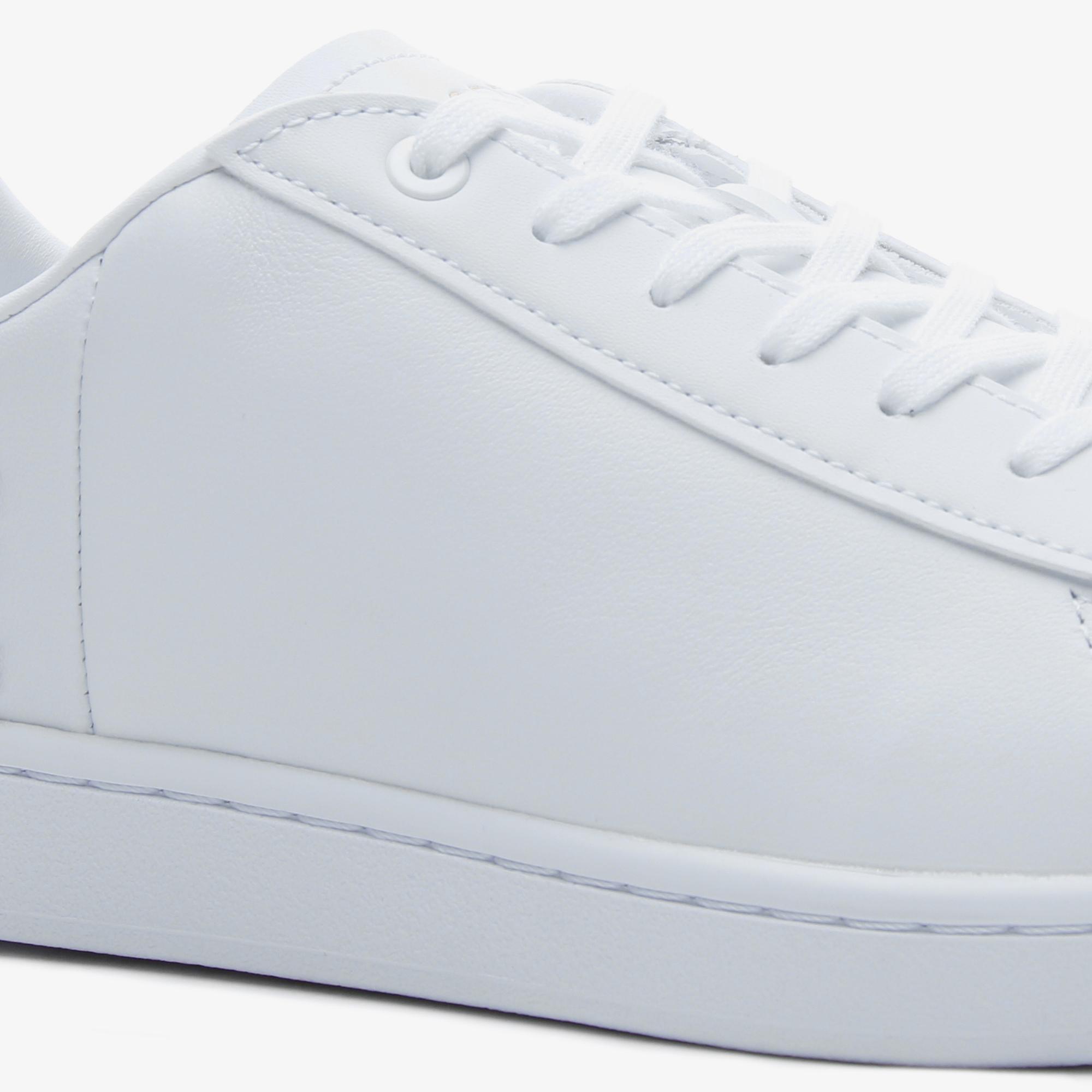 Lacoste Carnaby Evo 120 6 Us Sfa Kadın Beyaz Deri Sneaker