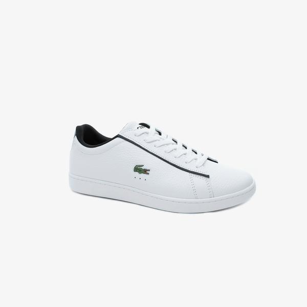 Lacoste Carnaby Evo 120 2 Sma Erkek Beyaz Deri Sneaker