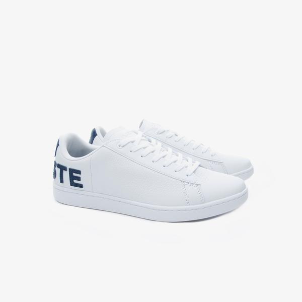 Lacoste Carnaby Evo 120 7 Us Sma Erkek Beyaz Deri Sneaker
