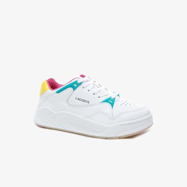 Lacoste Court Slam 419 1 Qsp Sfa Kadın Beyaz Sneaker