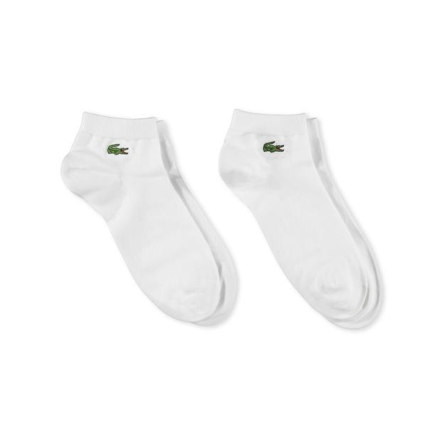 Lacoste Sport Unisex Beyaz 2'li Çorap