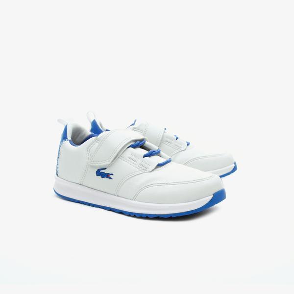 Lacoste L.ight 319 1 Suc Çocuk Bej - Mavi Sneaker