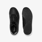 Lacoste Court Slam Kadın Siyah Ayakkabı