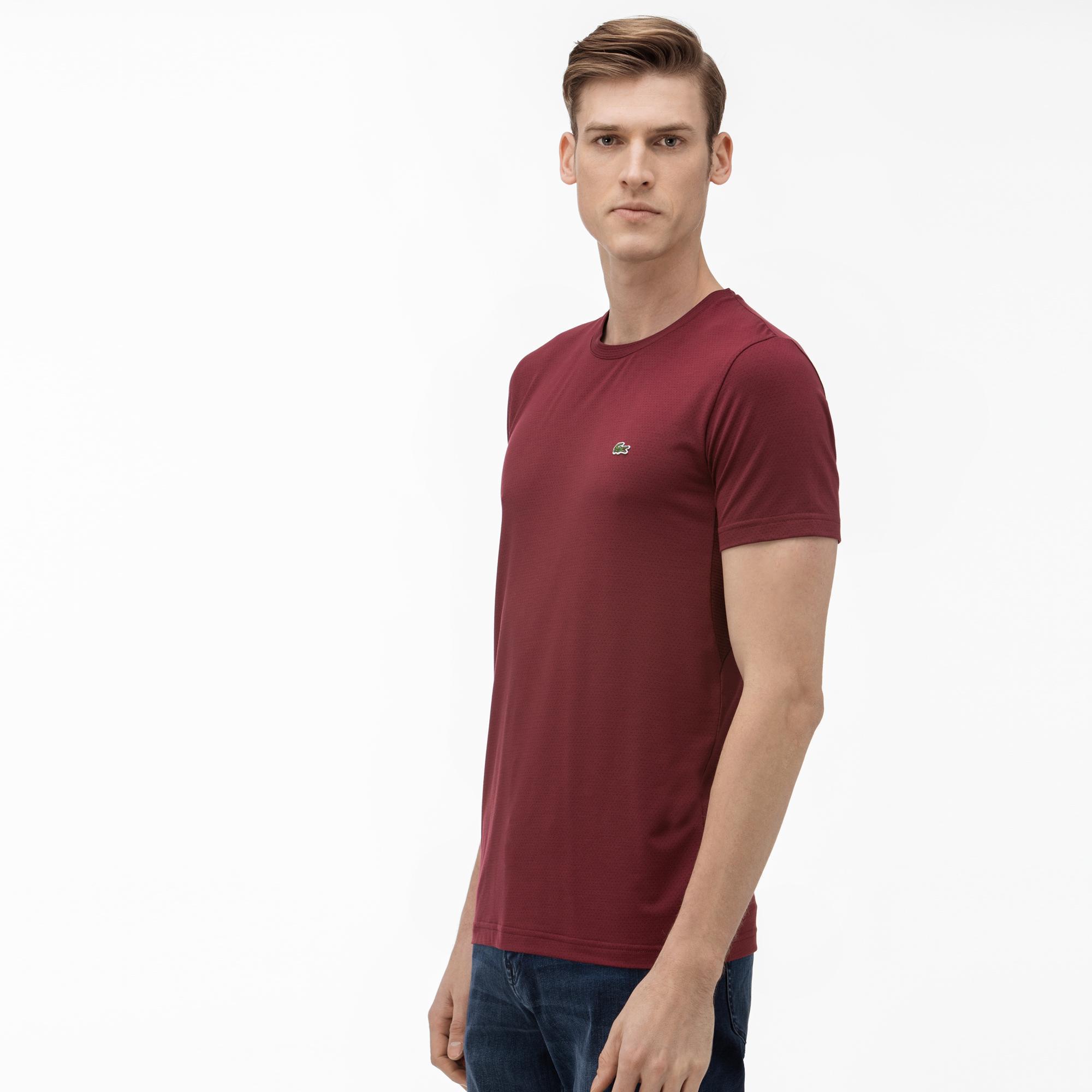 Lacoste Erkek Bordo T-Shirt