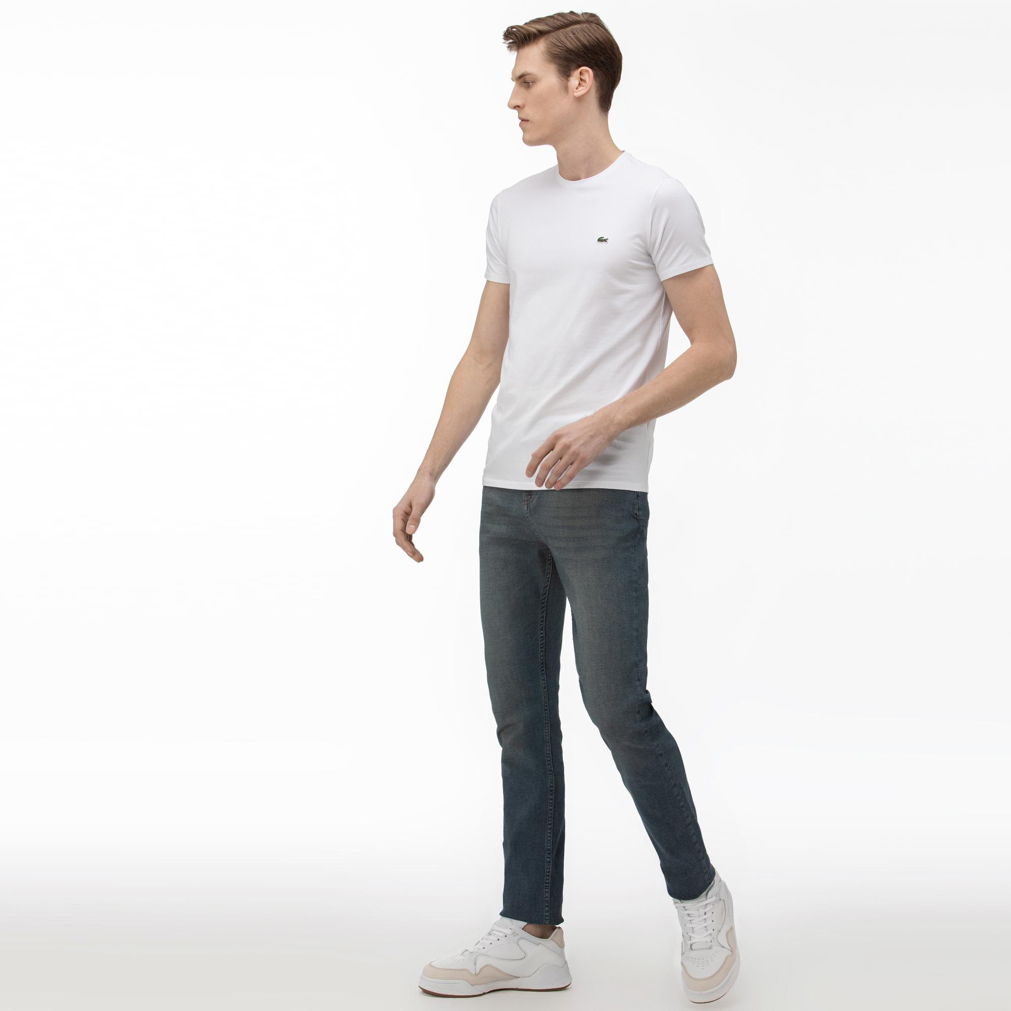 Lacoste Erkek Slim Fit Denim Pantolon