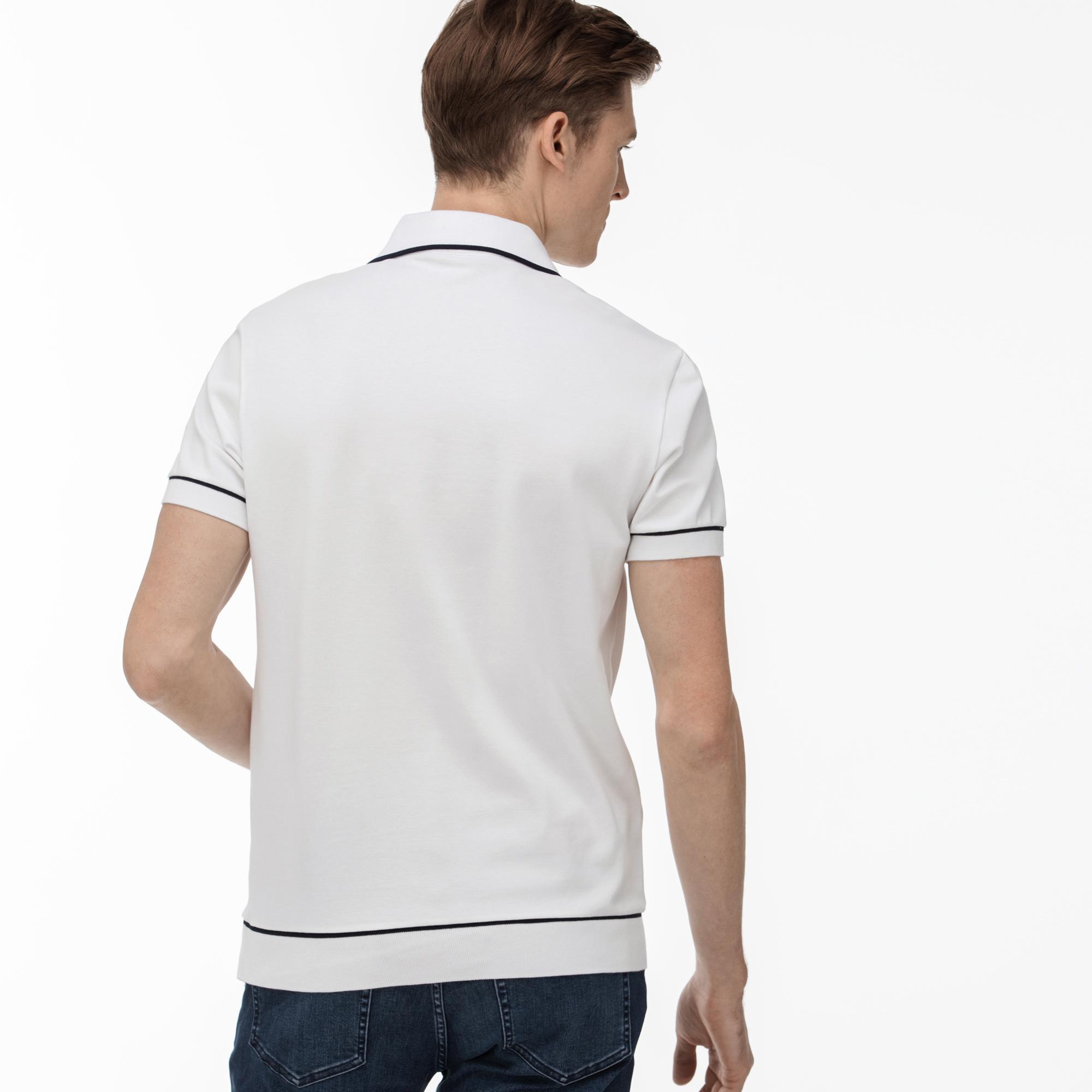 Lacoste Erkek Regular Fit Beyaz Polo