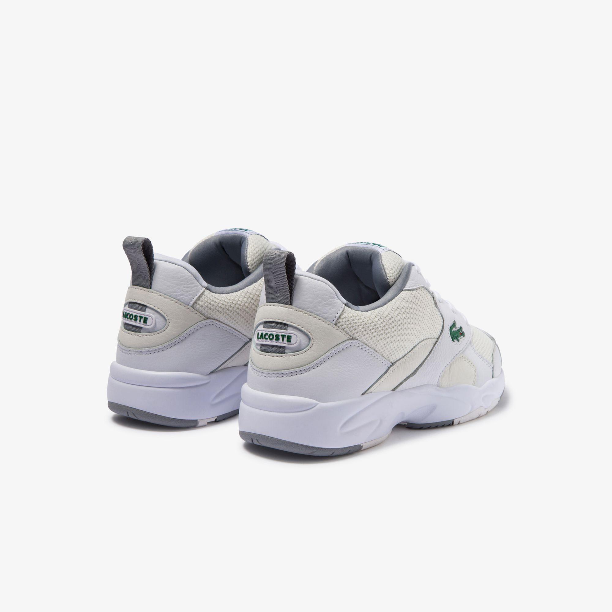 Lacoste Storm 96 120 2 Sma Erkek Beyaz Deri Sneaker