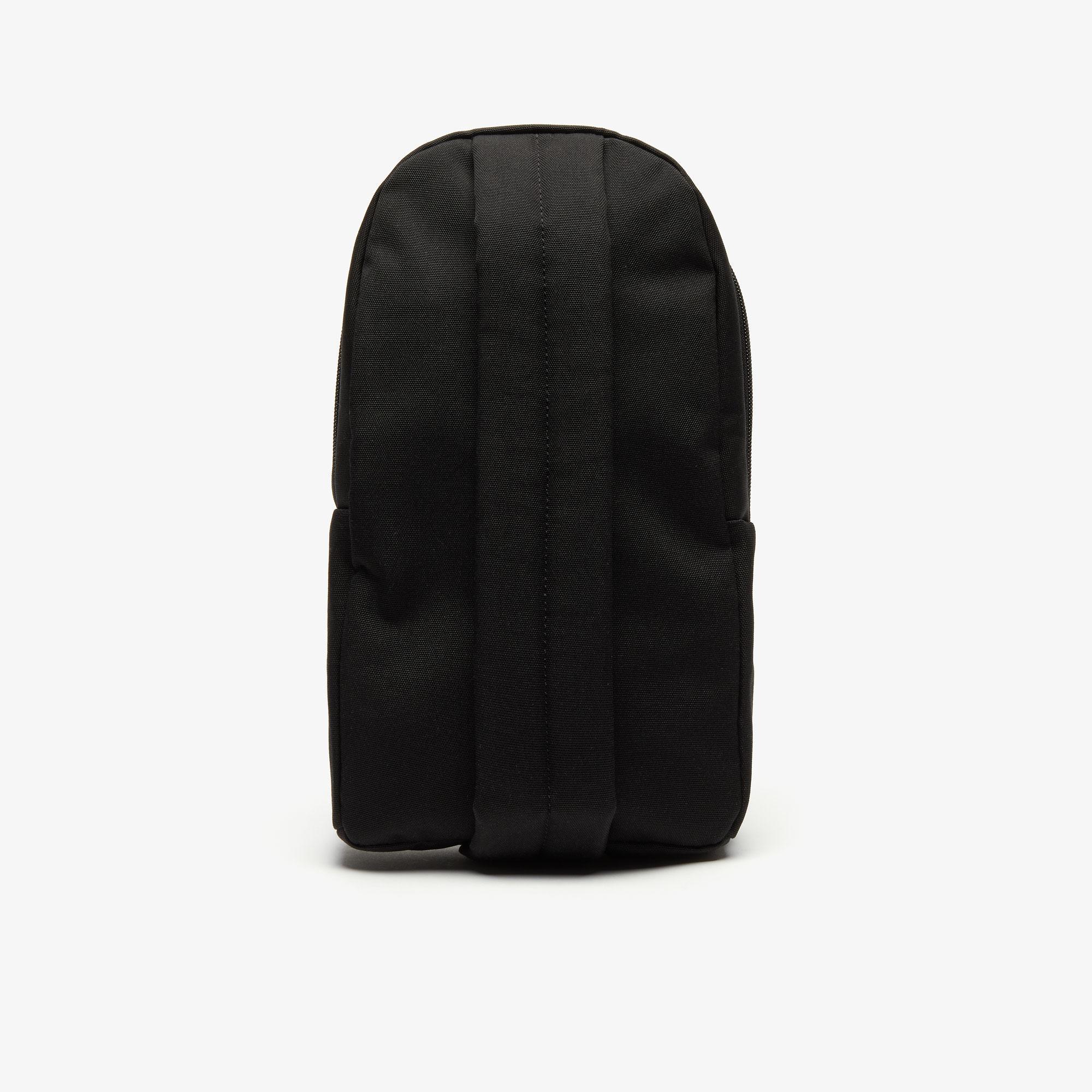 Lacoste Neocroc Erkek Siyah Çapraz Askılı Sırt Çantası