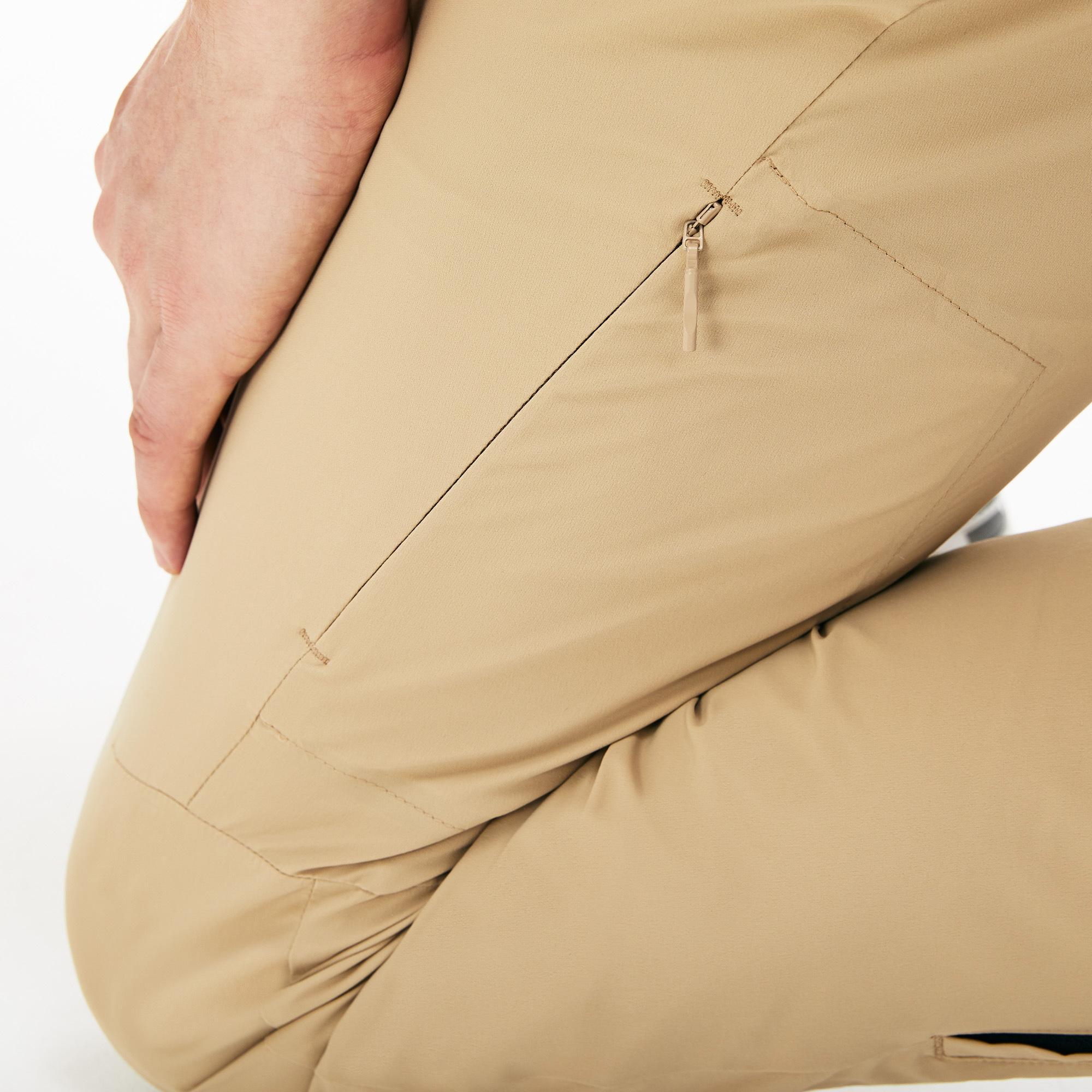 Lacoste Motion Erkek Açık Kahverengi Regular Fit Pantolon