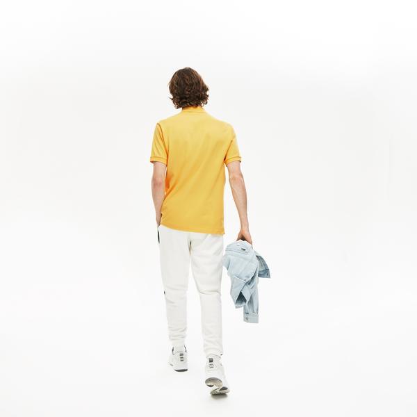 Lacoste Erkek Klasik Fit L1212 Sarı Polo