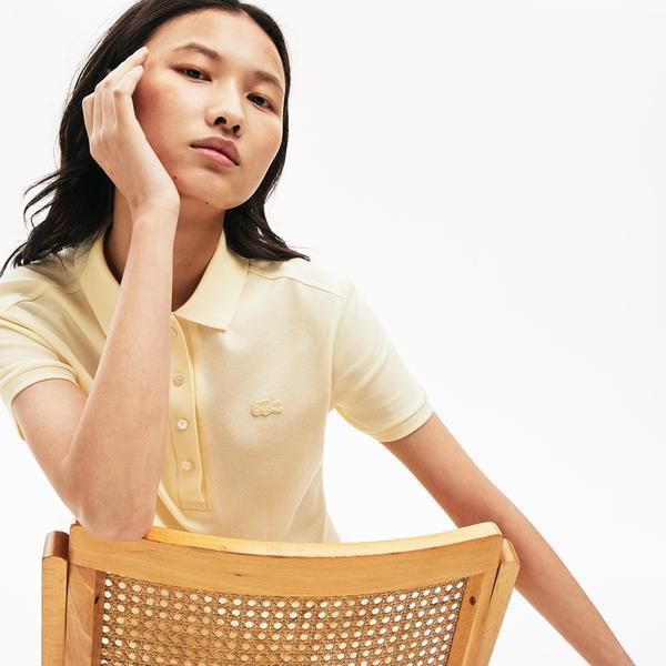 Lacoste Kadın Açık Sarı Polo