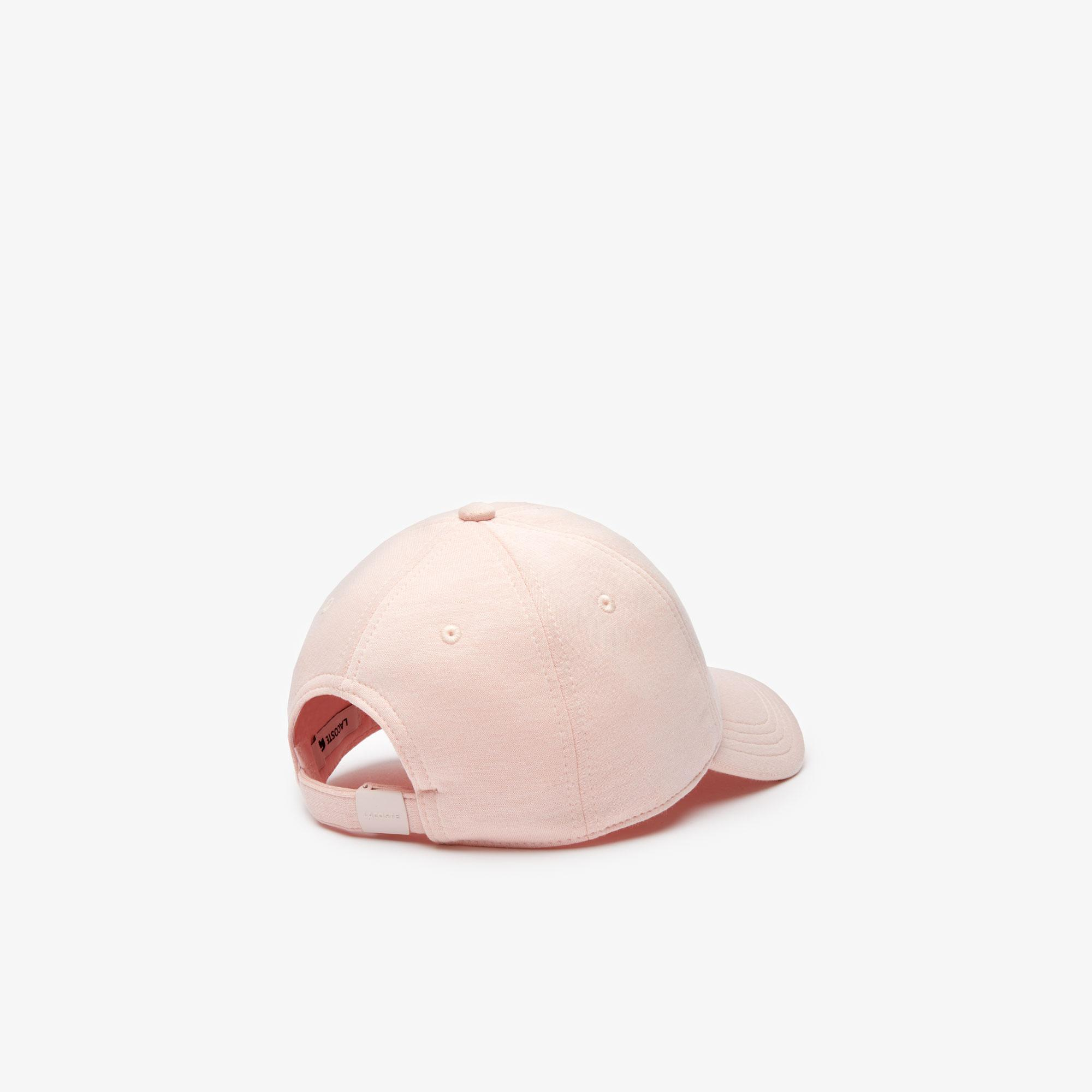Lacoste Unisex Desenli Açık Pembe Şapka