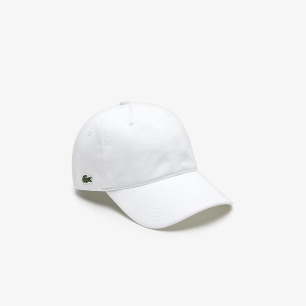 Lacoste Unisex Beyaz Şapka