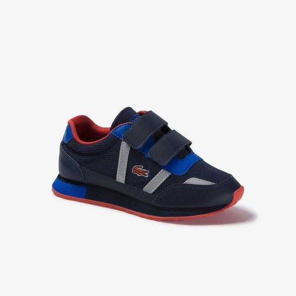 Lacoste Partner 120 1 Suc Çocuk Lacivert - Mavi Sneaker