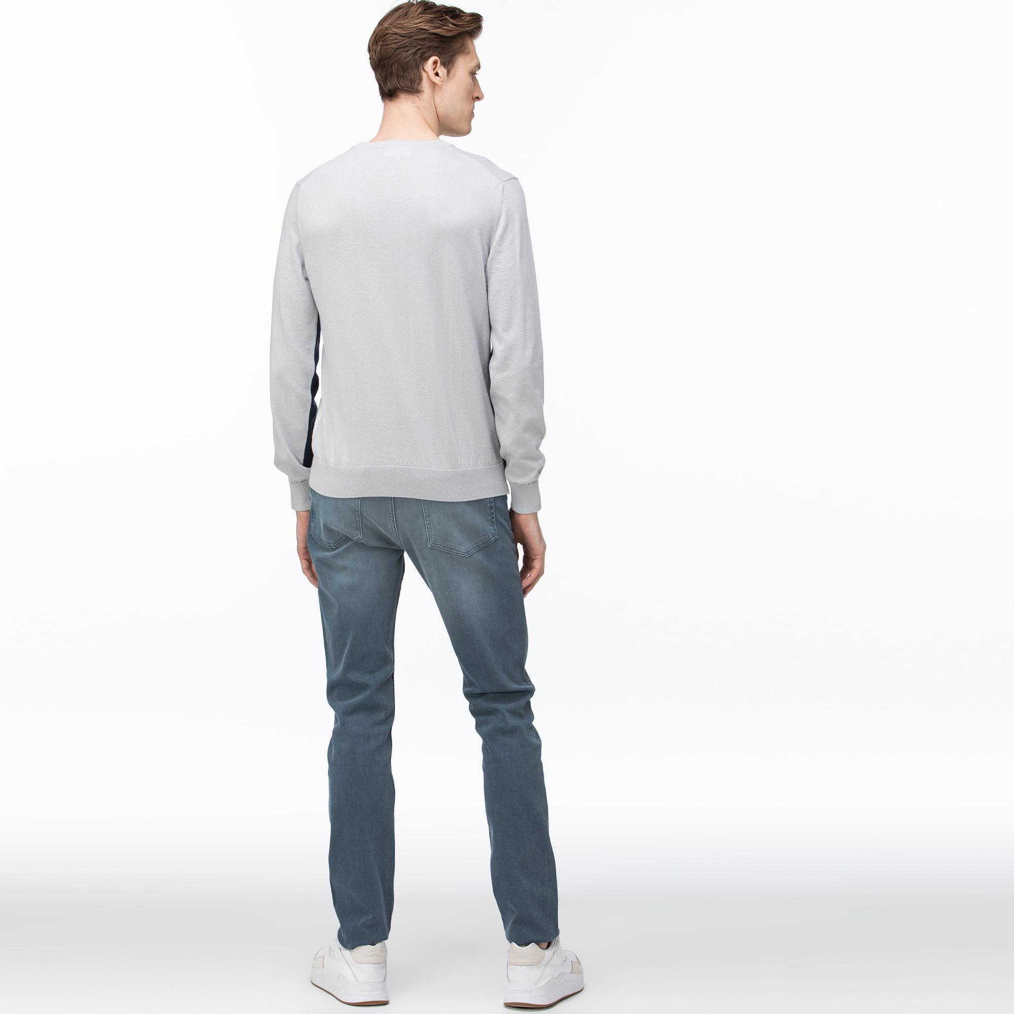 Lacoste Erkek Slim Fit Koyu Gri Pantolon