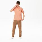 Lacoste Erkek Klasik Fit L1212 Açık Pembe Polo