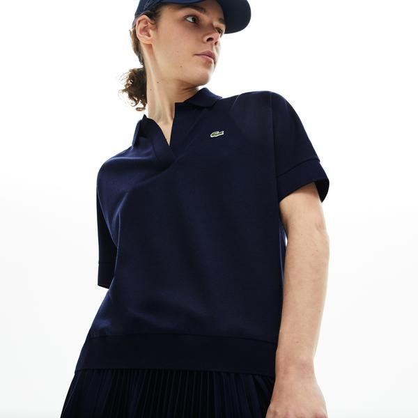 Lacoste Kadın Lacivert Polo