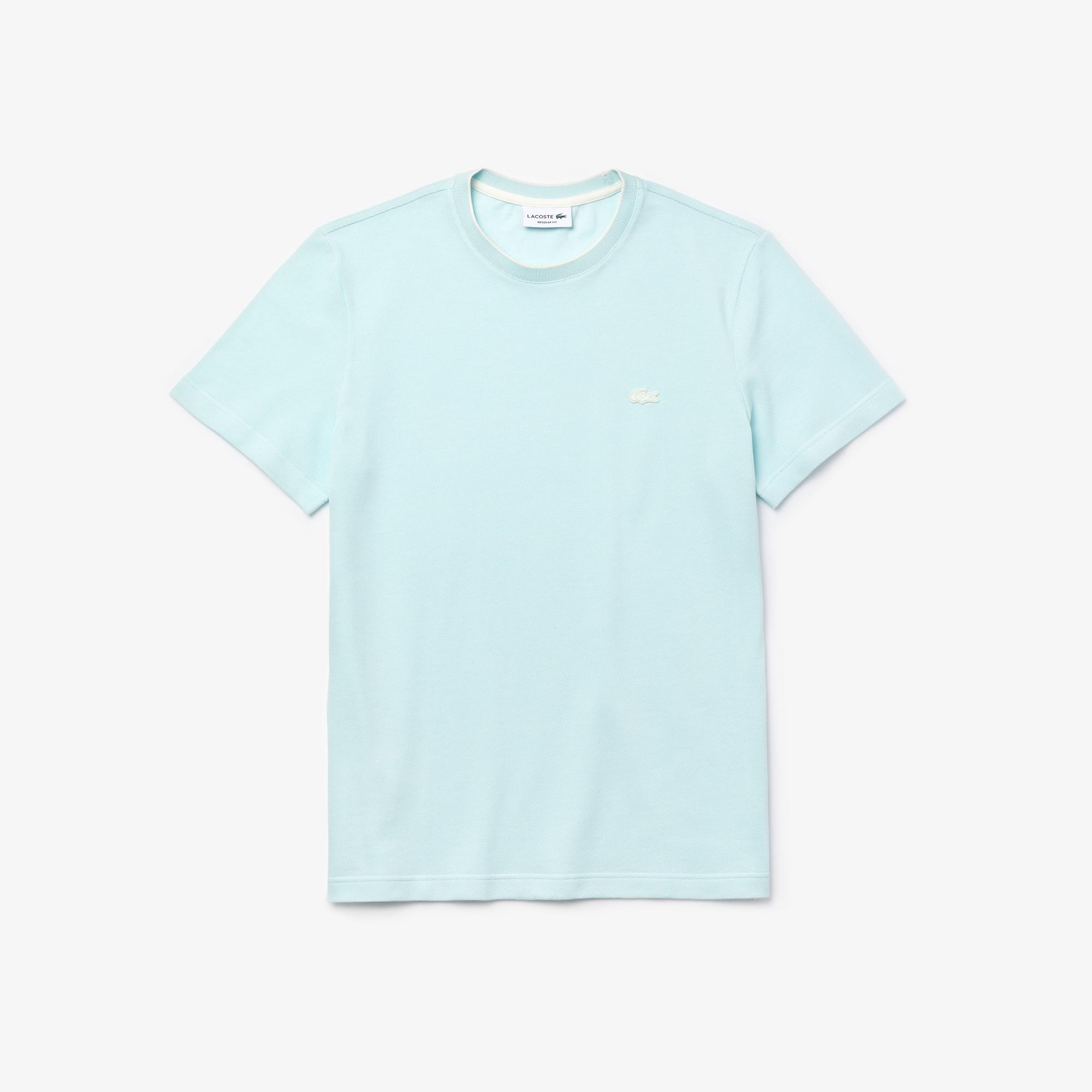 Lacoste Erkek Bisiklet Yaka Beyaz T-Shirt