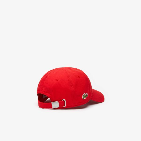 Lacoste Çocuk Kırmızı Şapka