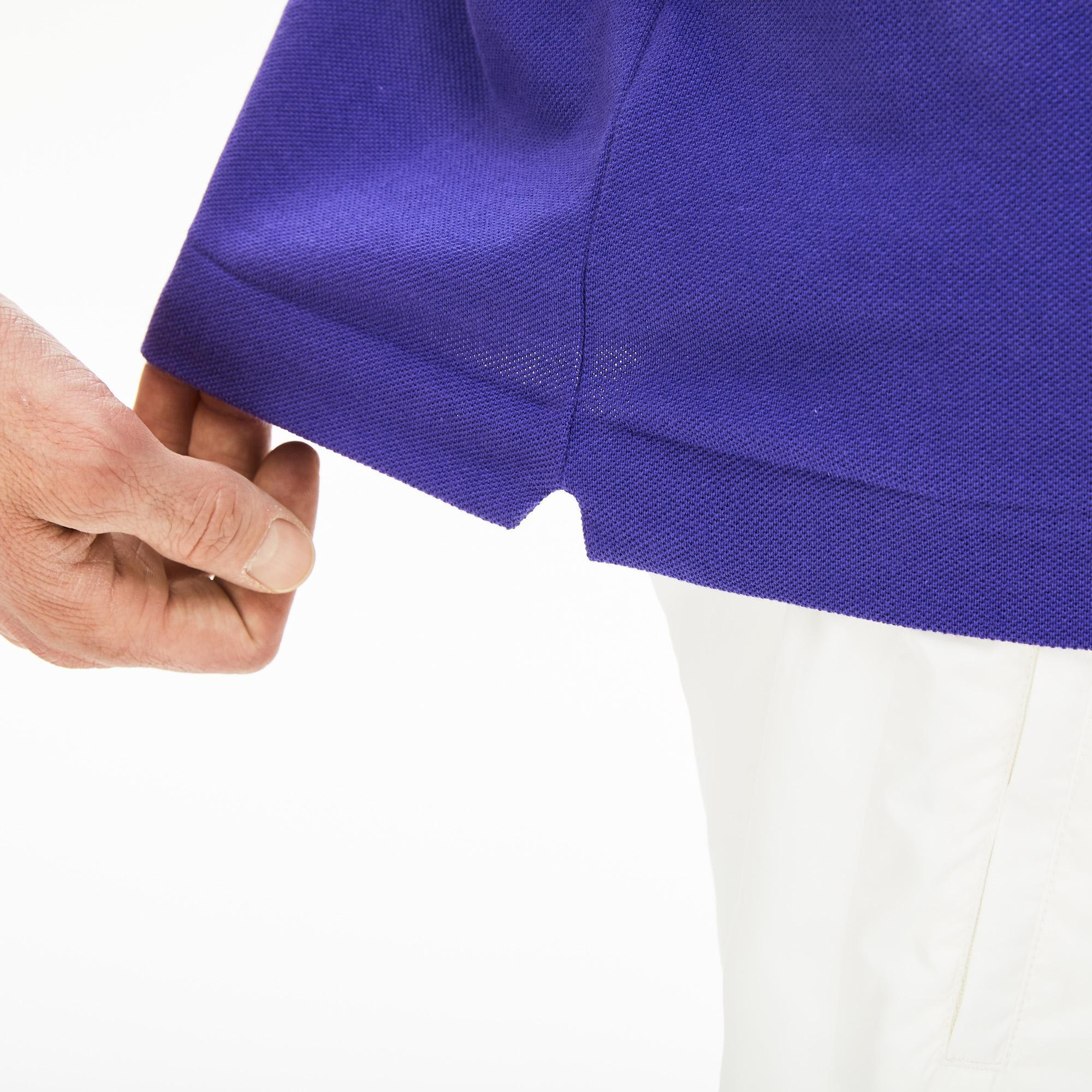 Lacoste Erkek Klasik Fit L1212 Saks Mavi Polo