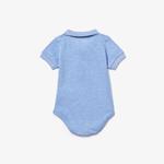 Lacoste Çocuk Kısa Kollu Açık Mavi Pijama