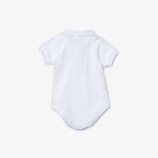 Lacoste Çocuk Kısa Kollu Beyaz Pijama