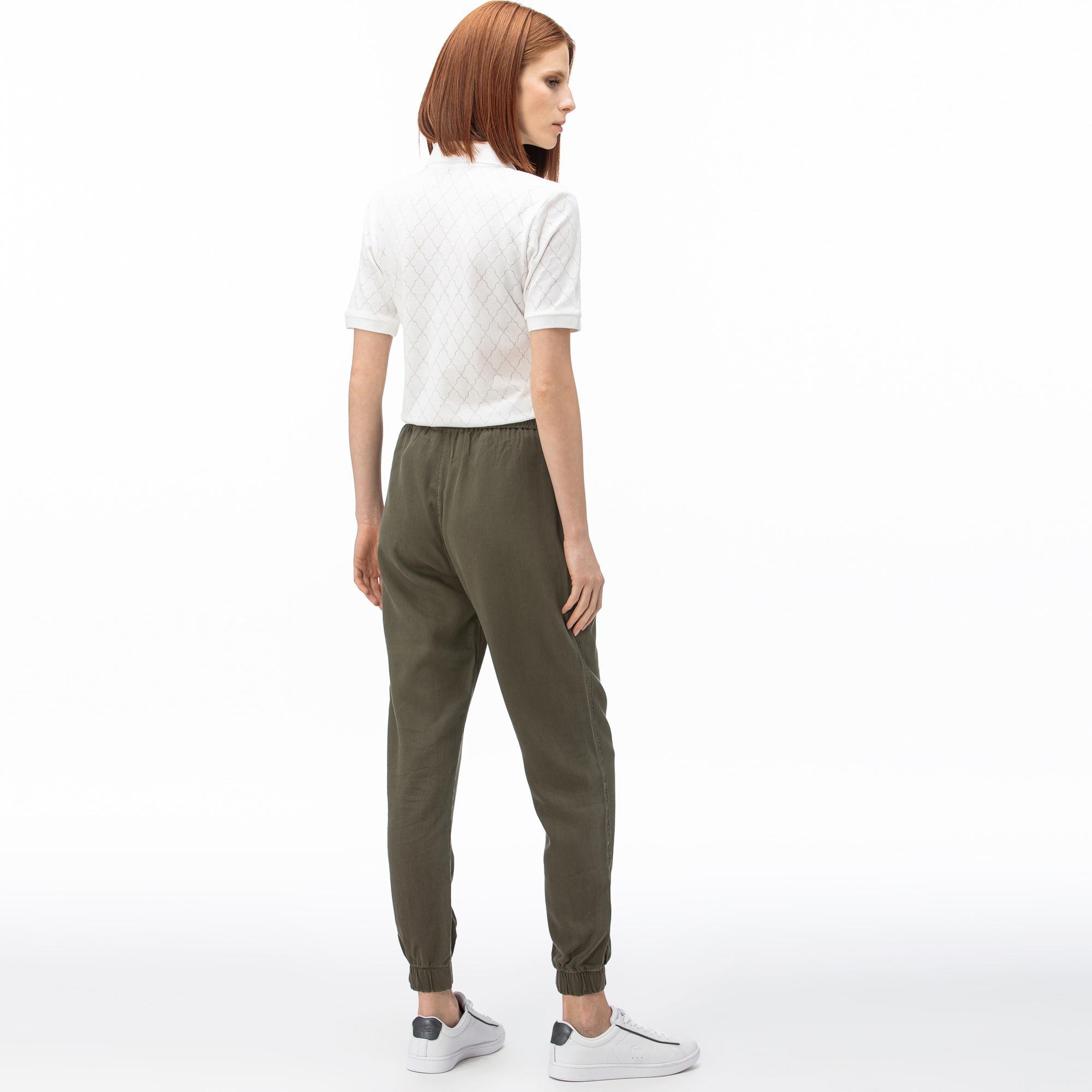 Lacoste Kadın Yeşil Pantolon