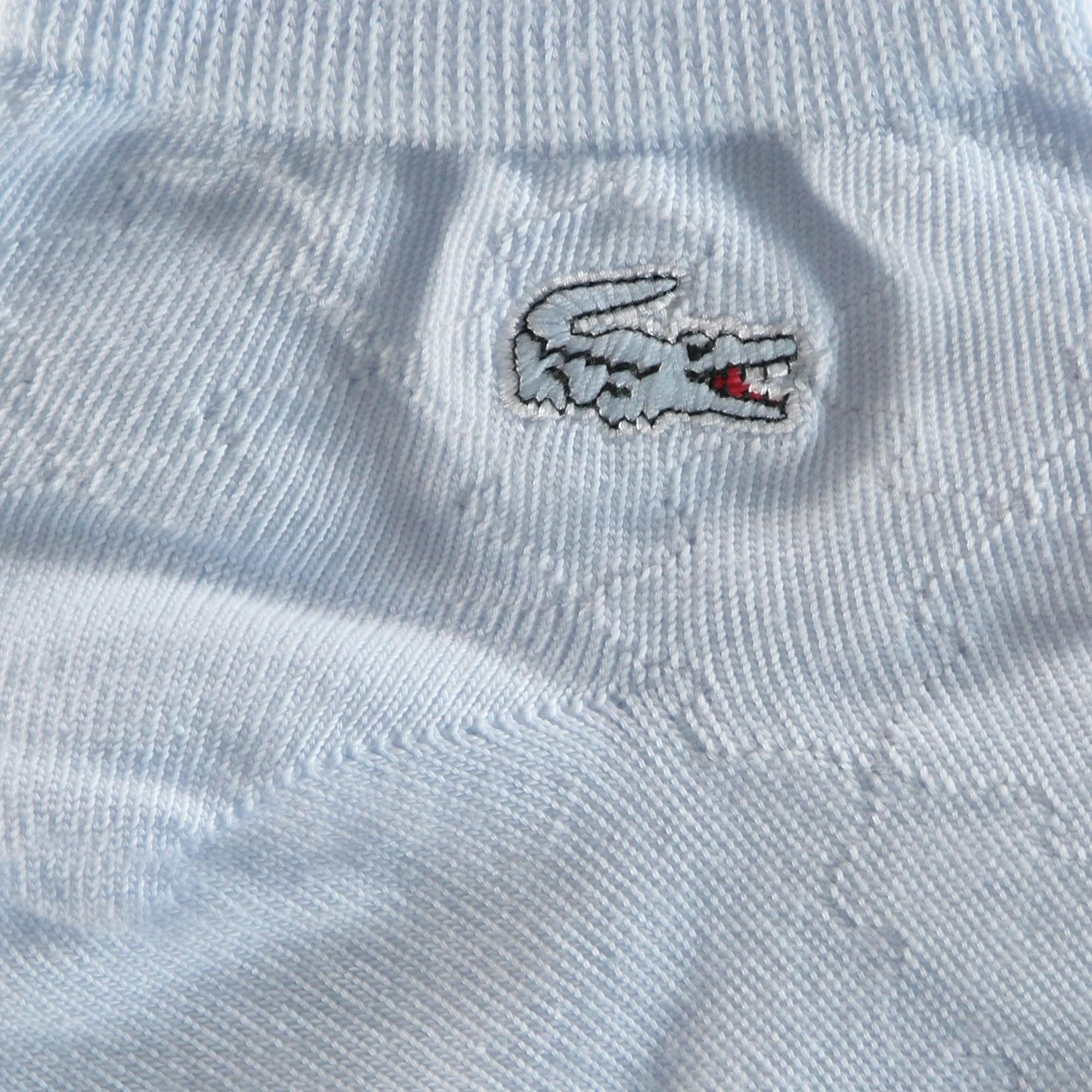 Lacoste Kadın Desenli Açık Mavi Çorap