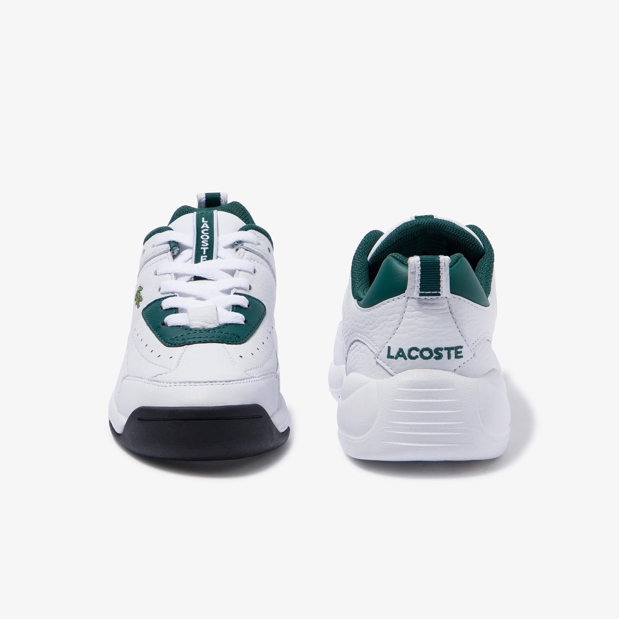 Lacoste V-Ultra Og 120 1 Sfa Kadın Koyu Yeşil - Beyaz Deri Sneaker