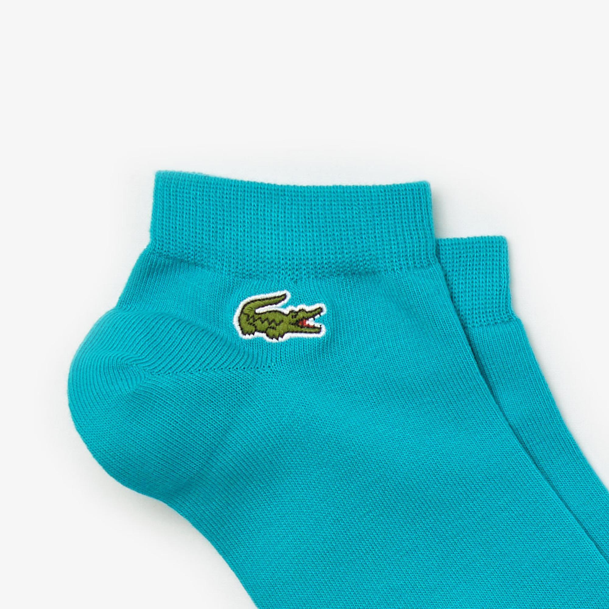 Lacoste Sport Unisex Renkli 3'lü Çorap