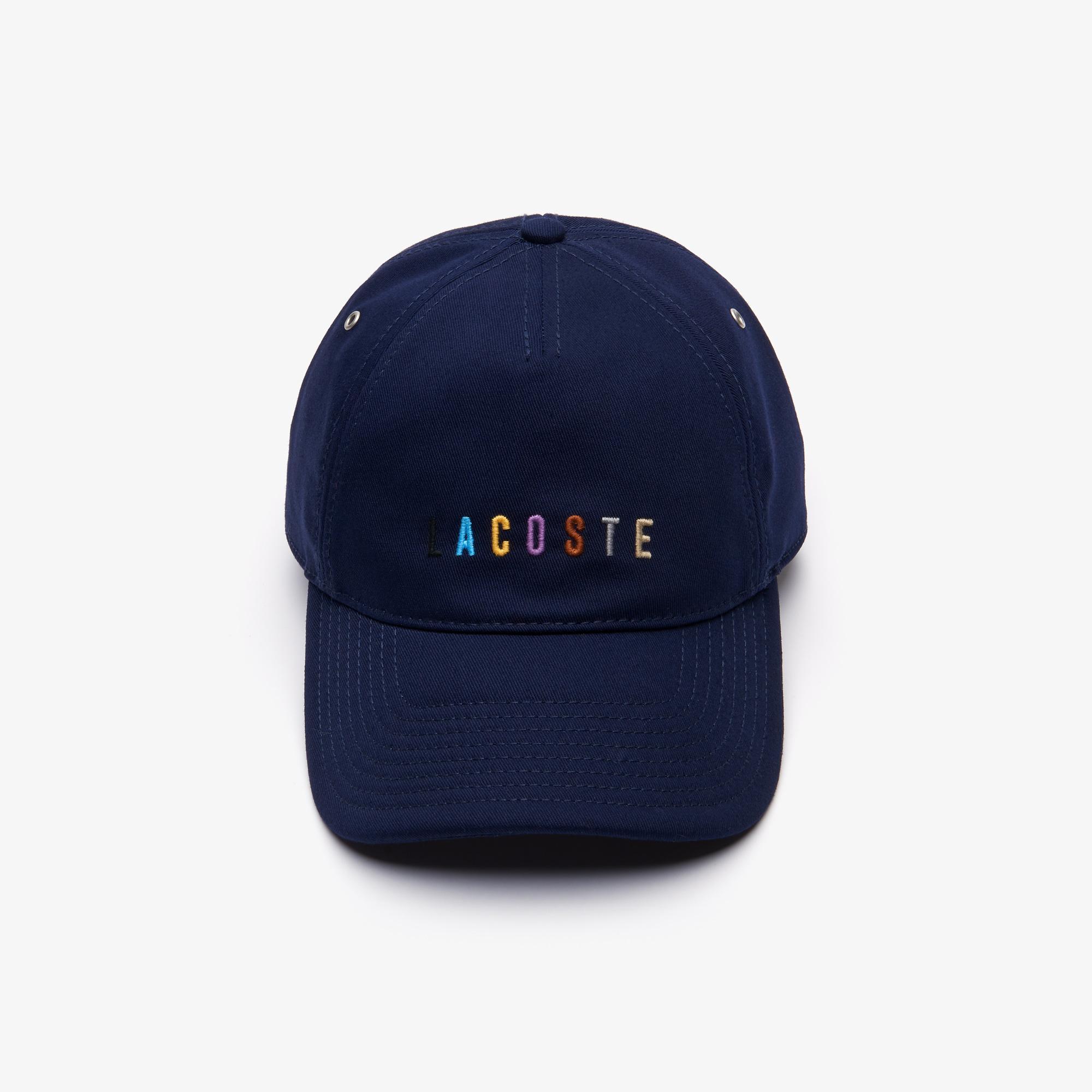 Lacoste Unisex Lacivert Şapka