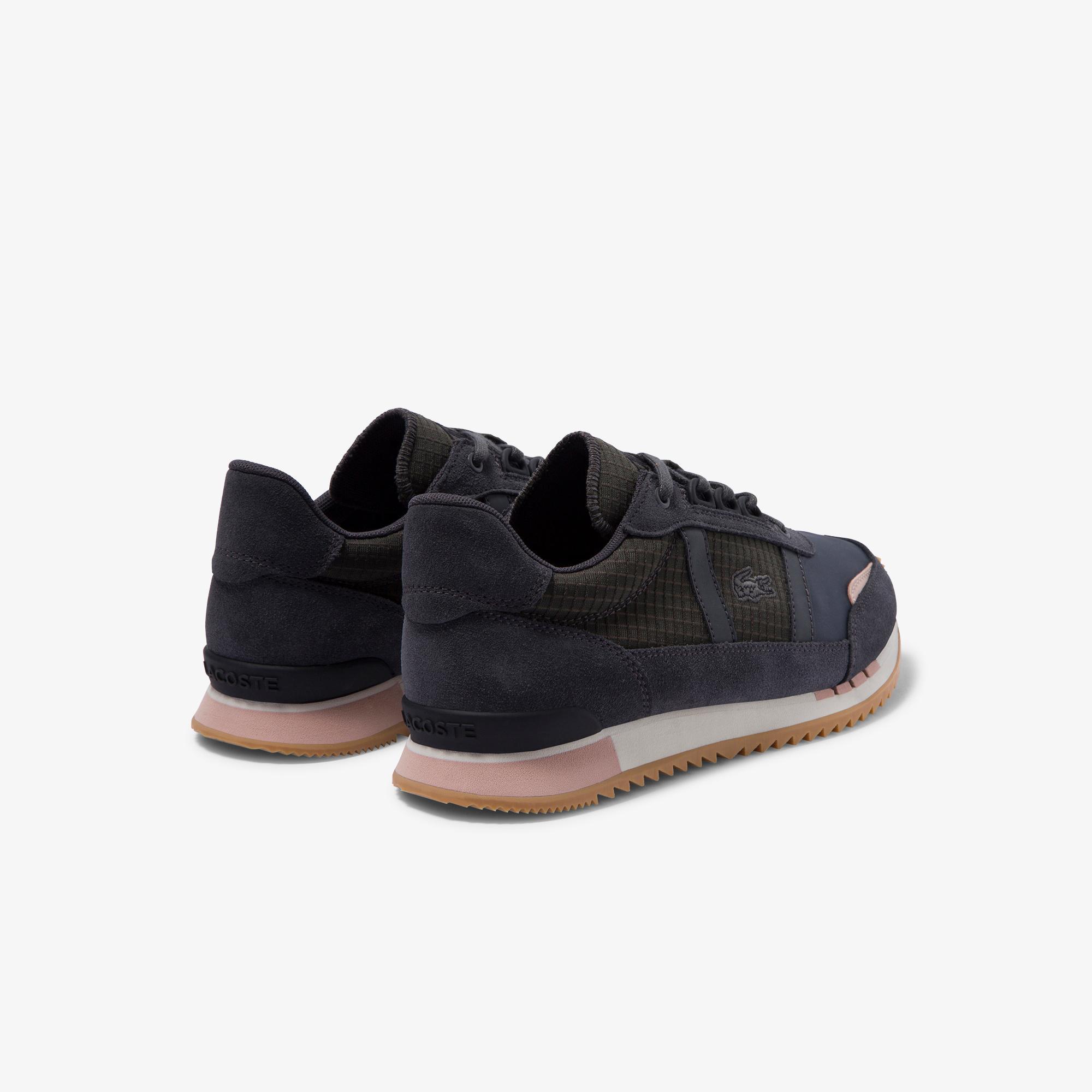 Lacoste Partner Retro 120 2 Sfa Kadın Koyu Gri - Pudra Sneaker