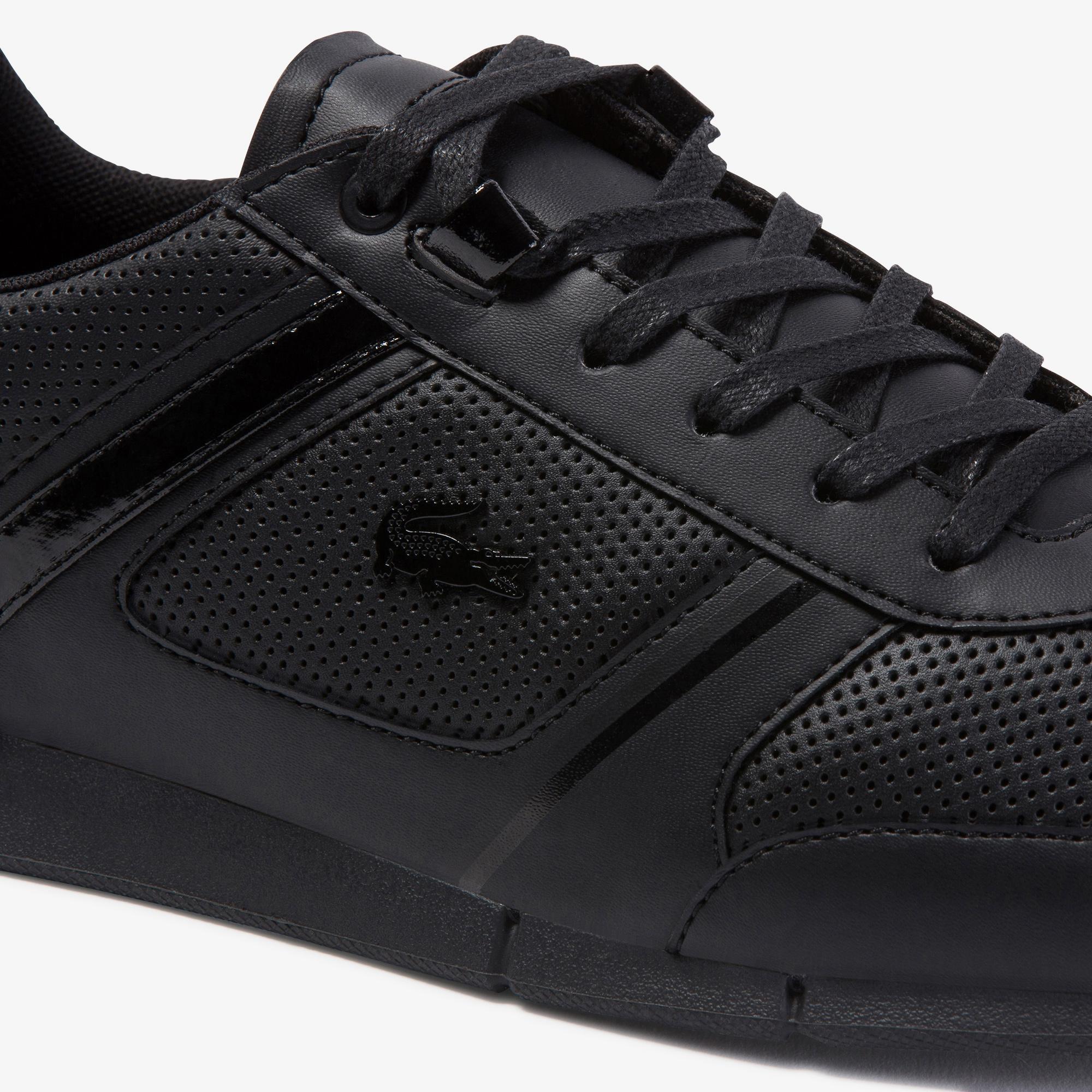 Lacoste Menerva 120 2 Cma Erkek Siyah Ayakkabı