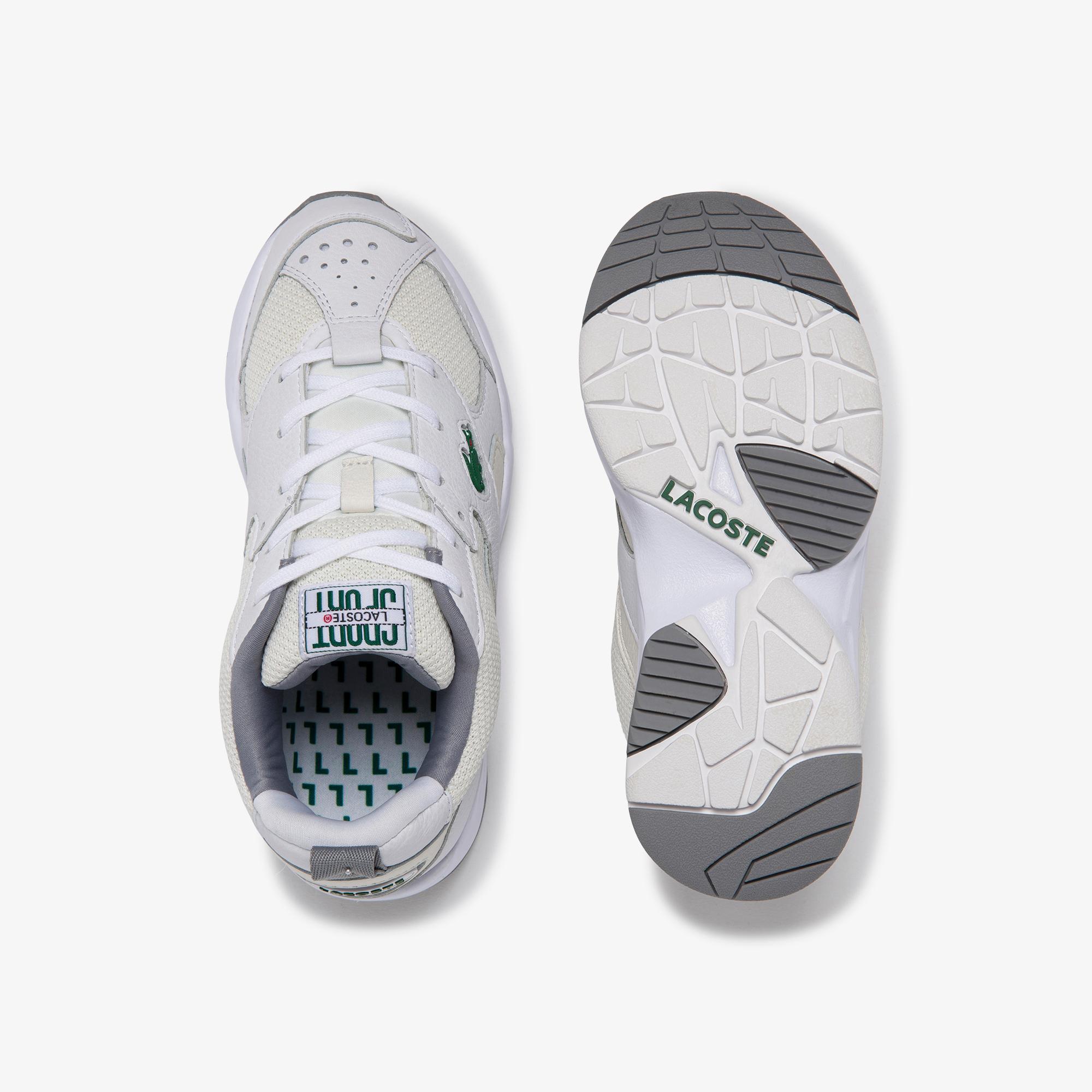Lacoste Storm 96 120 2 Sfa Kadın Beyaz Deri Sneaker