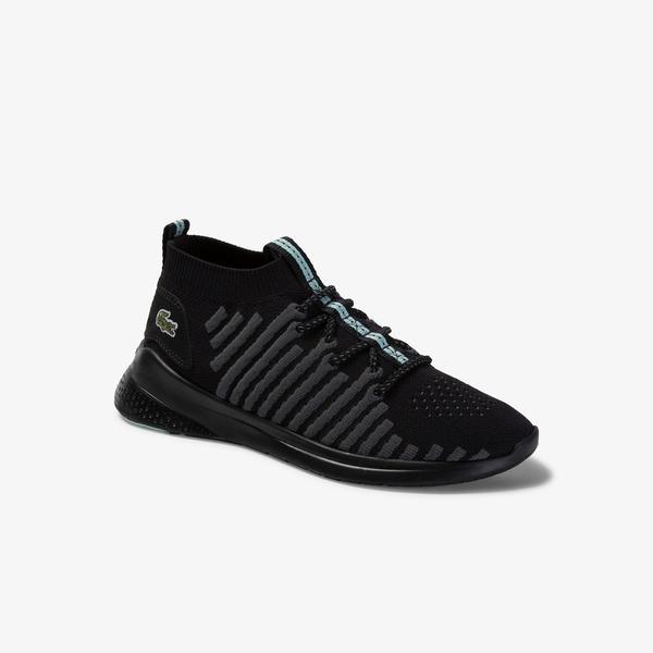 Lacoste Lt Fit-Flex 120 1 Sfa Kadın Siyah - Açık Yeşil Sneaker