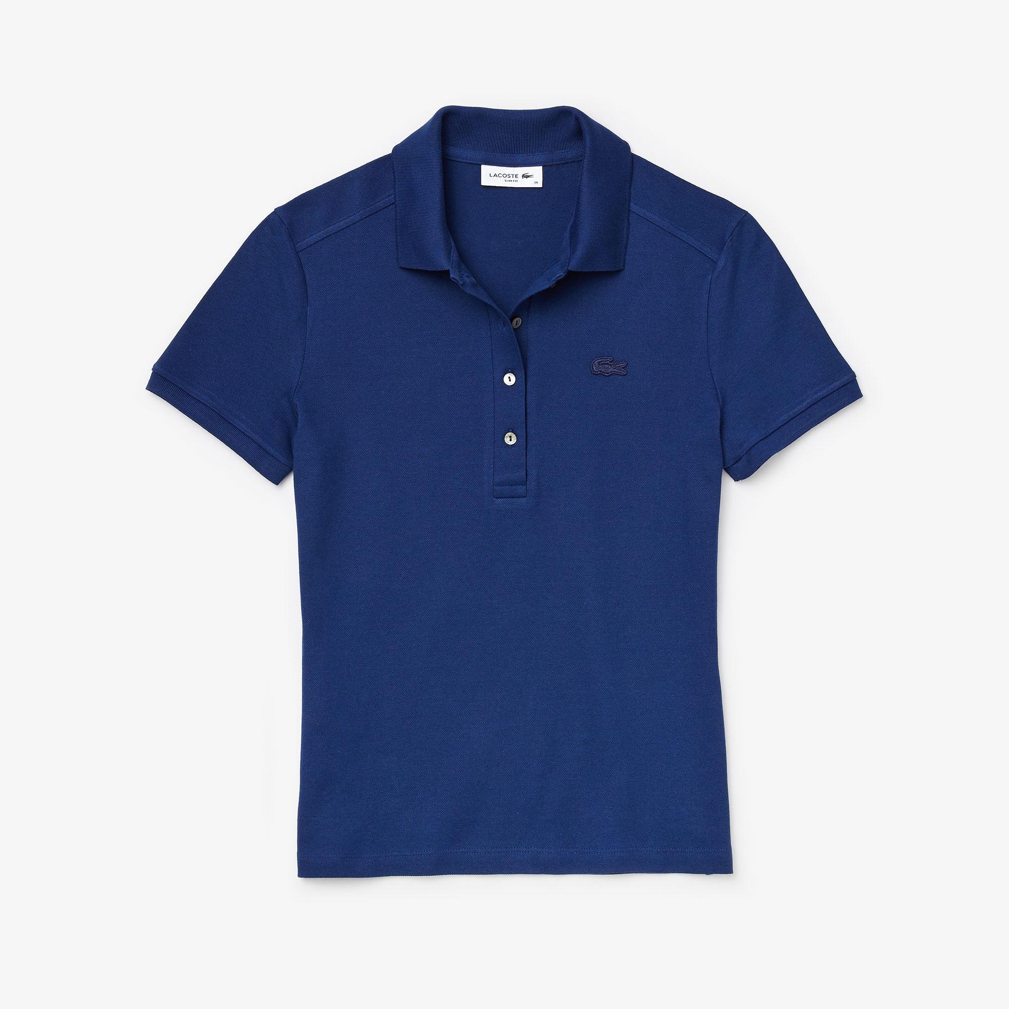 Lacoste Kadın Saks Mavi Polo
