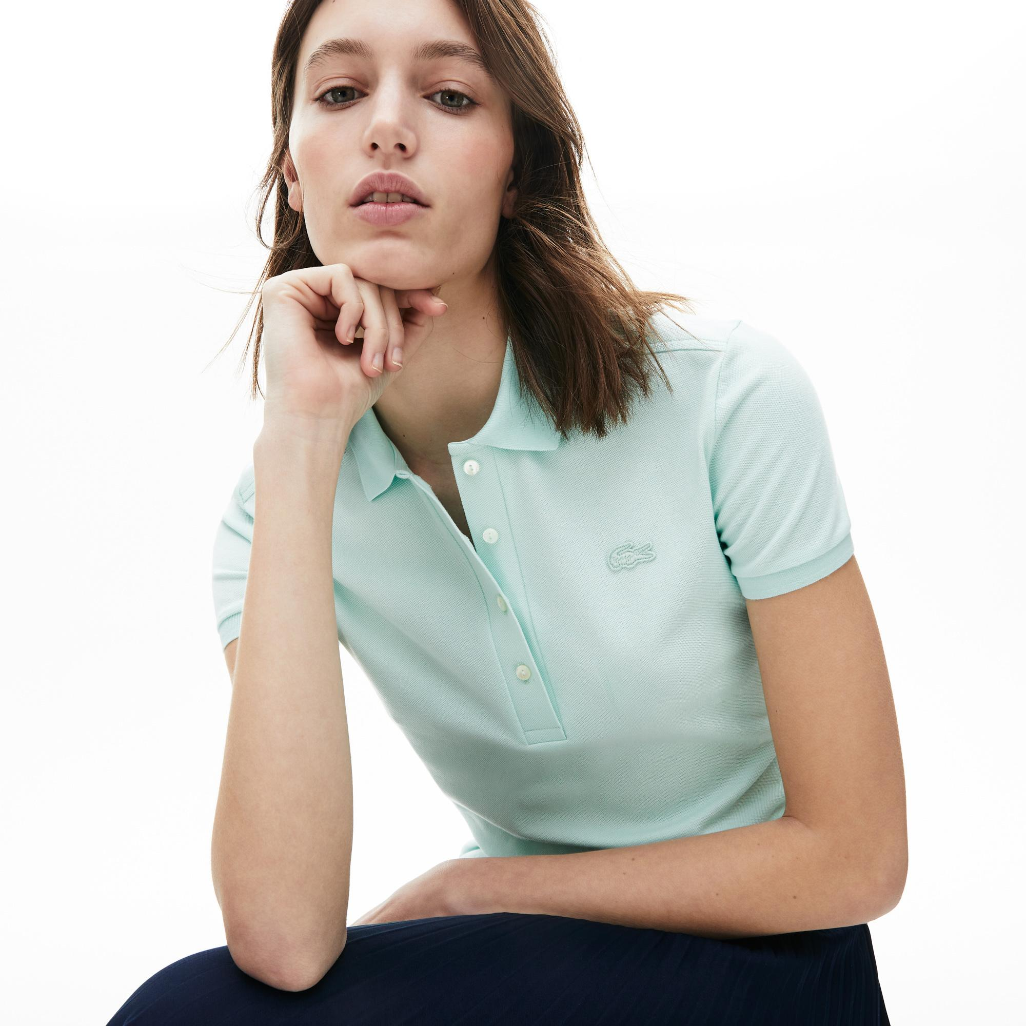 Lacoste Kadın Açık Mavi Polo
