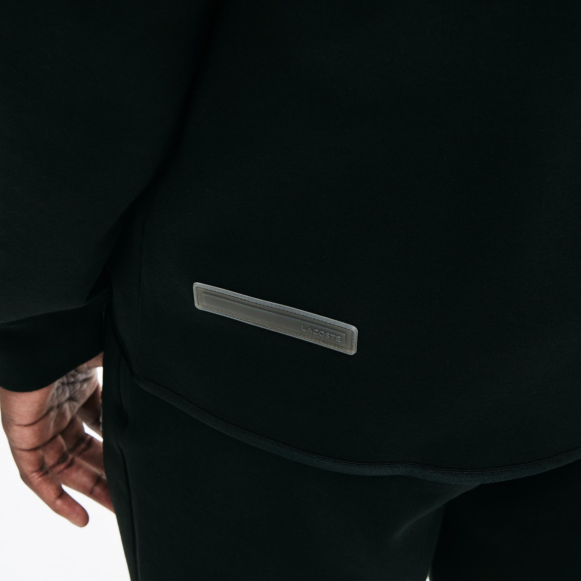 Lacoste Motion Erkek Siyah Kapüşonlu Sweatshirt