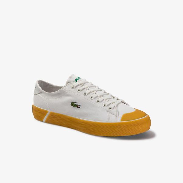 Lacoste Gripshot 120 6 Cma Erkek Beyaz - Gri Sneaker