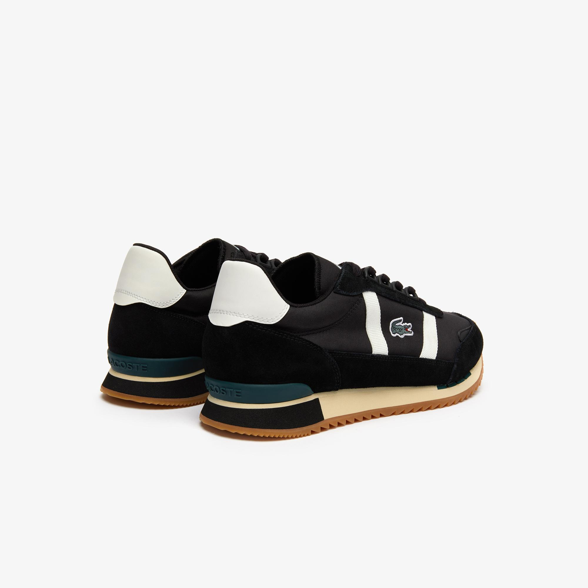 Lacoste Partner Retro 319 1 Sma Erkek Siyah - Bej Sneaker