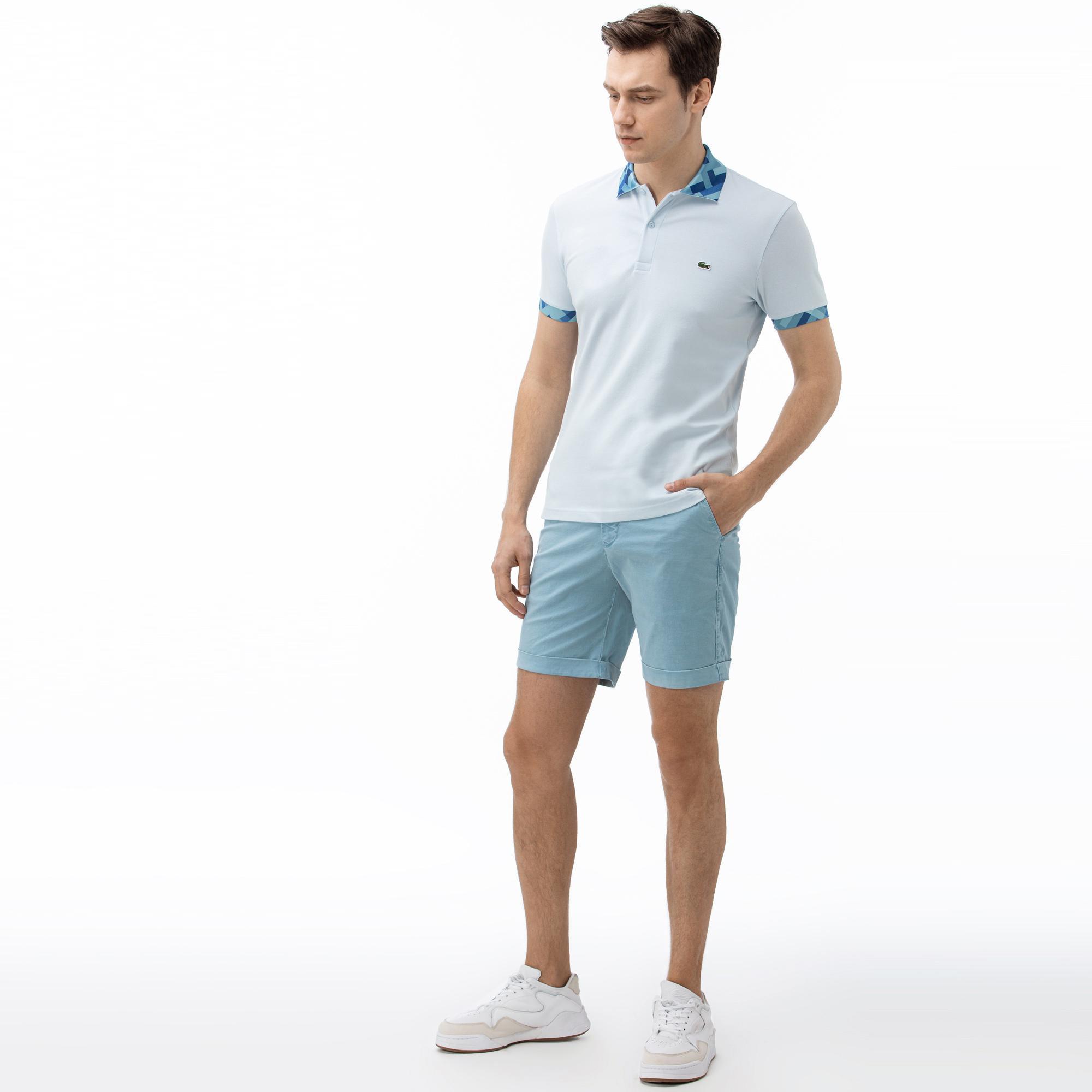 Lacoste Erkek Açık Mavi Bermuda Şort