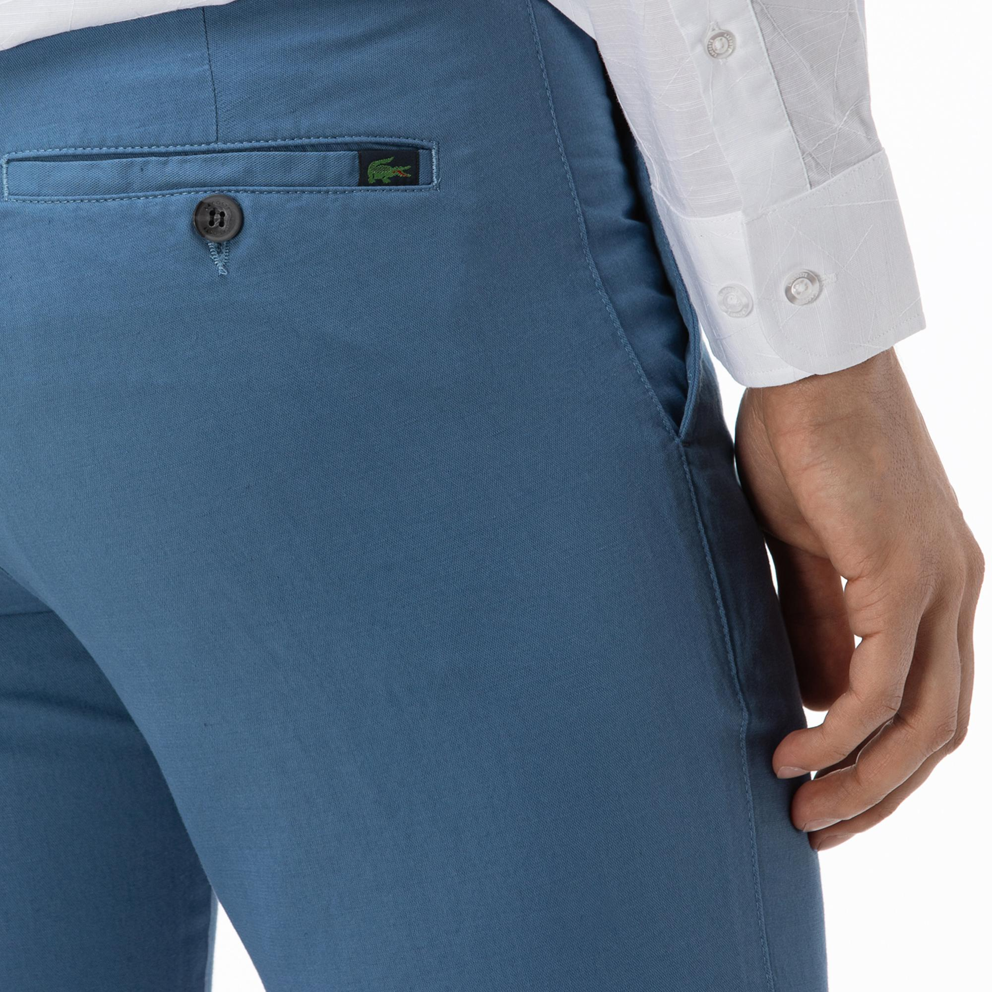 Lacoste Erkek Mavi Pantolon