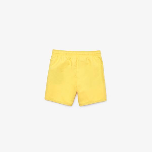 Lacoste Çocuk Sarı Şort Mayo