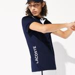 Lacoste Sport Erkek Baskılı Lacivert Polo