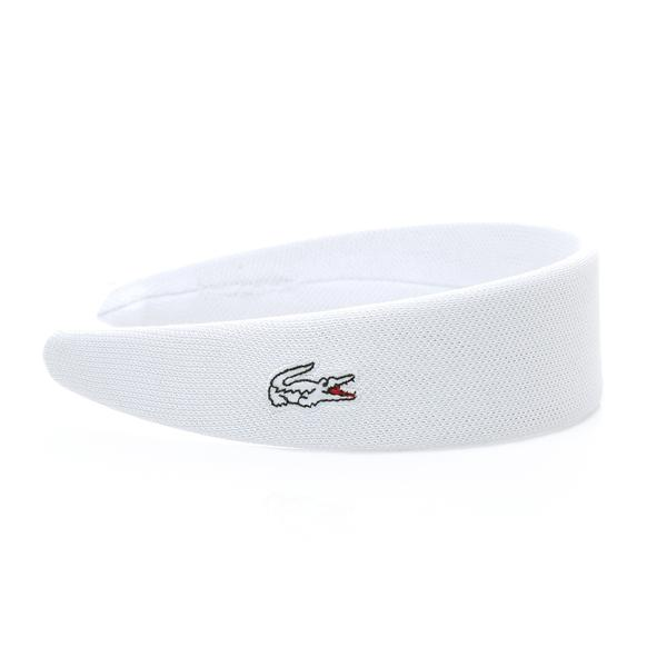 Lacoste Beyaz Saç Bandı