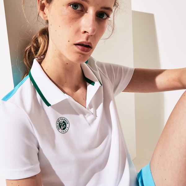 Lacoste Sport Kadın Baskılı Renkli Polo