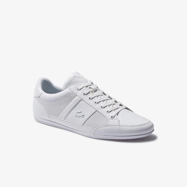 Lacoste Chaymon 120 3 Cma Erkek Beyaz Deri Ayakkabı