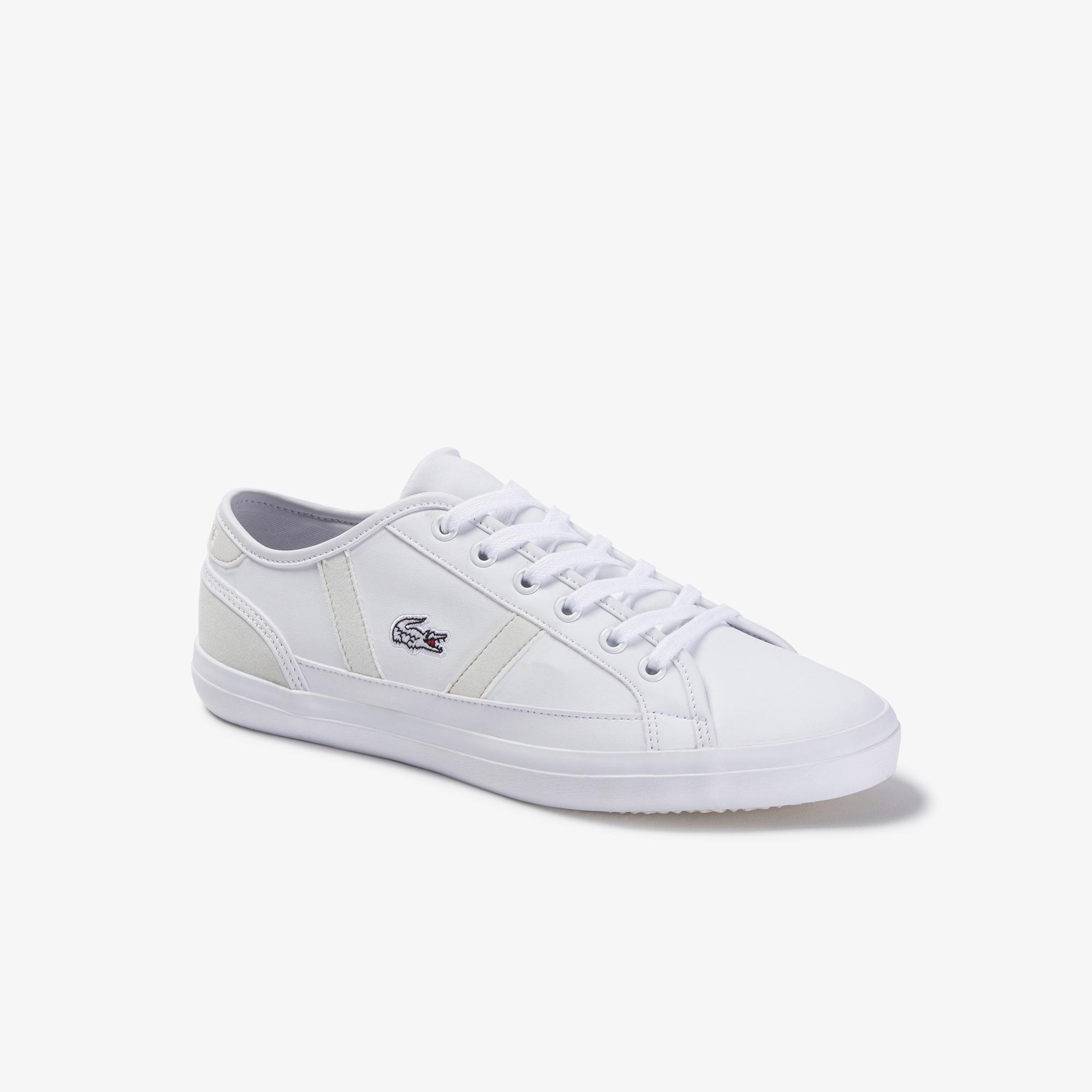 Lacoste Sideline 120 2 Cuj Kadın Beyaz Ayakkabı