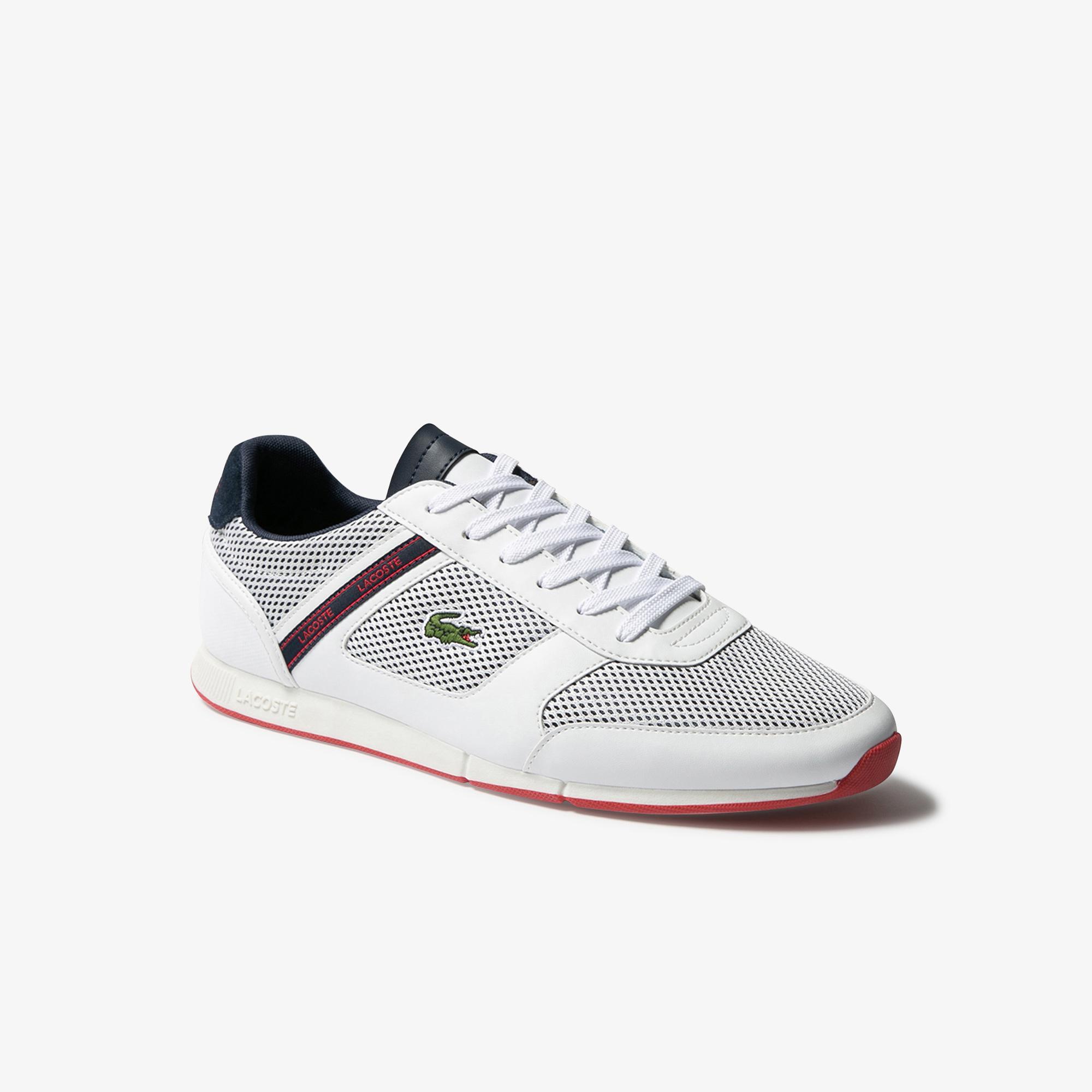 Lacoste Menerva Sport 120 1 Cma Erkek Beyaz - Lacivert Ayakkabı