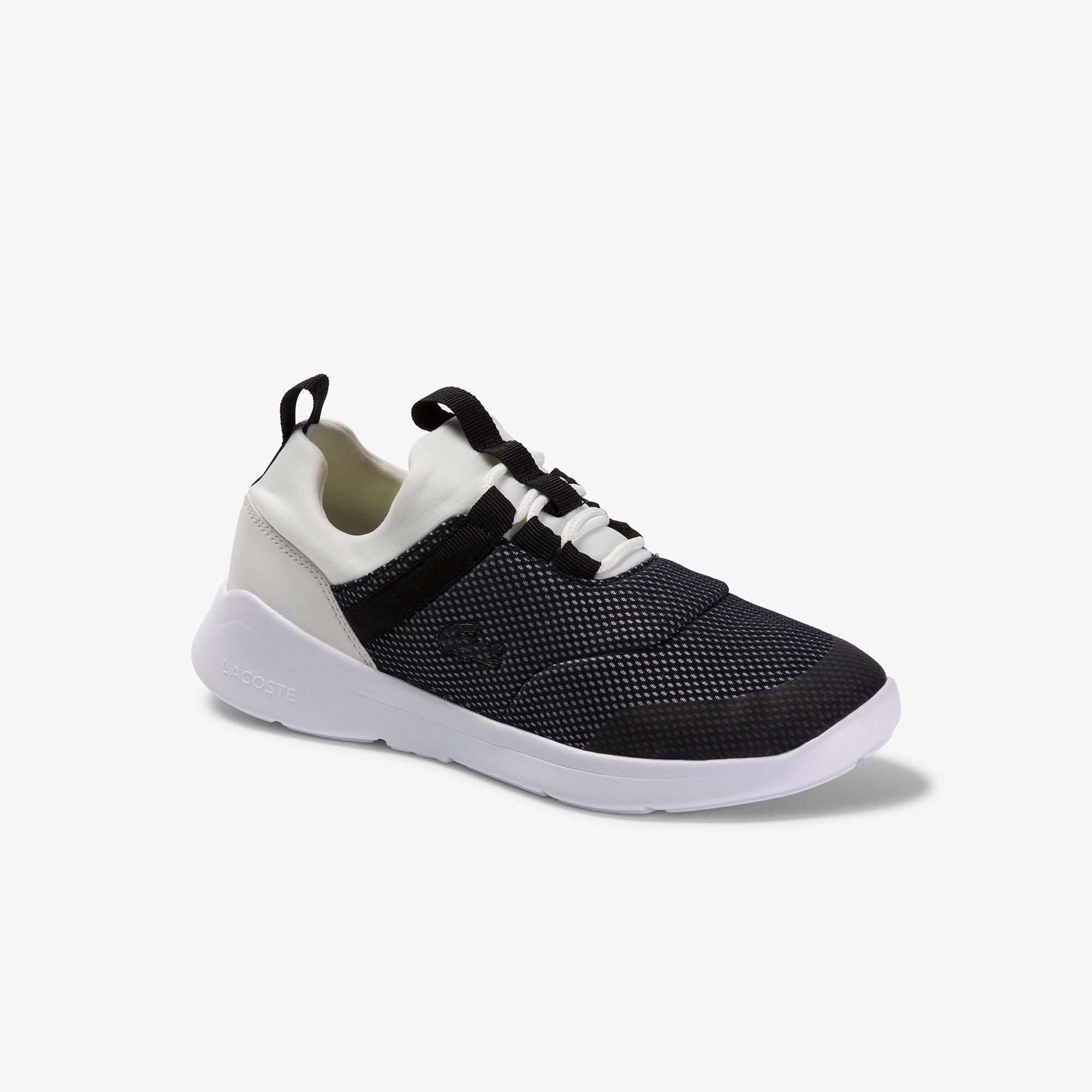 Lacoste Lt Dash 120 1 Suj Kadın Beyaz - Siyah Ayakkabı